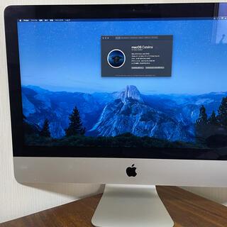 アップル(Apple)のApple  iMac  21.5inch  Intel core i5(デスクトップ型PC)