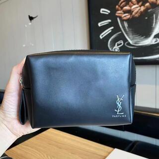 Yves Saint Laurent Beaute - 新品☆YSLイヴ・サンローランシャネルノベルティpouch cブラックBIG