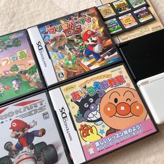 ニンテンドウ(任天堂)のNintendo DSLight DSi ソフトセット(携帯用ゲーム機本体)
