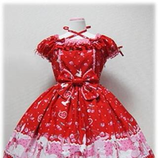 Angelic Pretty - Cherry Berry Bunny ワンピース