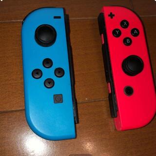 Nintendo Switch - Nintendo Switch 純正 ジョイコン ネオンレッド ネオンブルー