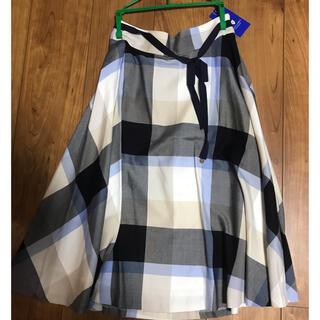 BURBERRY BLUE LABEL - BURBERRY BLUE LABEL スカート チェックスカート