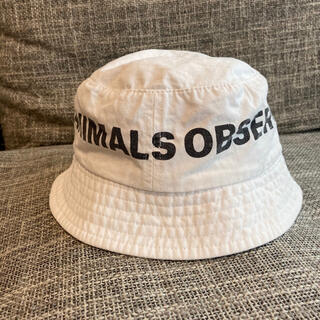 こども ビームス - 美品 TAO ホワイト ハット バケットハット キッズ 帽子 キャップ コットン