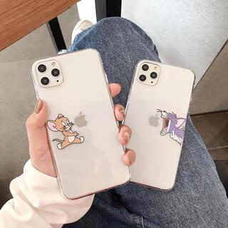 大人気トムとジェリーiPhoneケース スマホカバー シリコンアイフォーンケース
