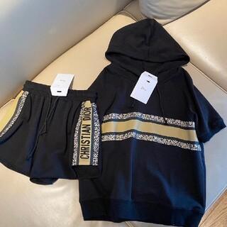 ディオール(Dior)の【新品】Dior半袖とズボンのスーツです(Tシャツ(半袖/袖なし))