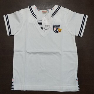 mikihouse - 新品未使用 ミキハウス 半袖Tシャツ セーラー 120