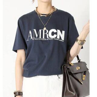 DEUXIEME CLASSE - MUSE 別注【AMERICANA/アメリカーナ】 AMRCN Tシャツ