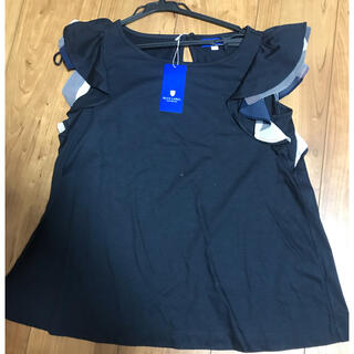 BURBERRY BLUE LABEL - BURBERRY BLUE LABEL フリルシャツ Tシャツ