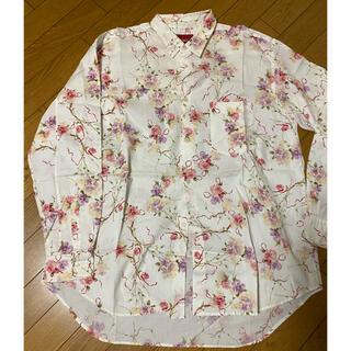 PINK HOUSE - ピンクハウス 花柄コットンシャツ