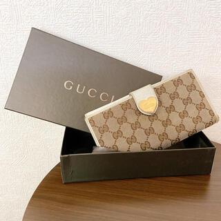 Gucci - GUCCI  グッチ ハート 長財布