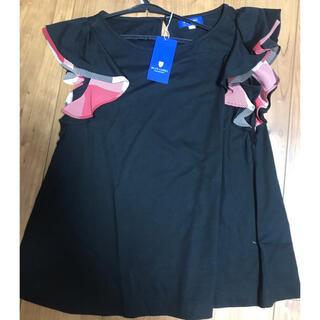 バーバリーブルーレーベル(BURBERRY BLUE LABEL)のBURBERRY BLUE LABEL フリルシャツ Tシャツ(Tシャツ(半袖/袖なし))