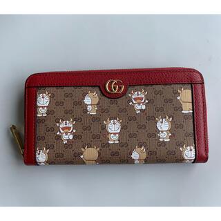 Gucci - GUCCI×牛ドラえもんコラボのうしえもん長財布