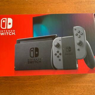 ニンテンドースイッチ(Nintendo Switch)のNintendo Switch グレー ニンテンドースイッチ 本体(家庭用ゲーム機本体)