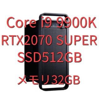 DAIV Z9 Core i9/32GBメモリ/512GB(デスクトップ型PC)