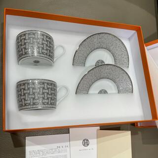 Hermes - エルメス モザイク24 ティーカップソーサー セット 新品未使用