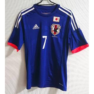 アディダス(adidas)のadidas サッカー日本代表 遠藤保仁 応援ユニフォーム Sサイズ(応援グッズ)