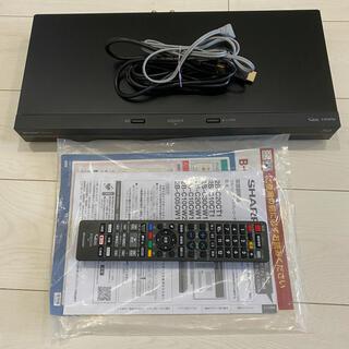 アクオス(AQUOS)の【ほぼ新品】SHARP ブルーレイディスクレコーダー 2B-C05CW1(ブルーレイレコーダー)