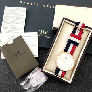 ダニエルウェリントン(Daniel Wellington)のDaniel Wellington ダニエルウェリントン  腕時計 ナイロン(腕時計(アナログ))