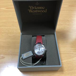 ヴィヴィアンウエストウッド(Vivienne Westwood)のヴィヴィアンウエストウッド 腕時計 赤(腕時計)