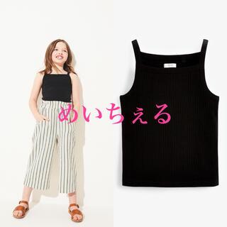 ネクスト(NEXT)の【新品】next ブラック ストラッピータンクトップ(オールド)(Tシャツ/カットソー)