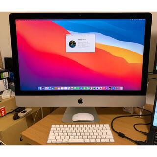 マック(Mac (Apple))のiMac 27 2015 メモリ32gb クアッドコアcore i5(デスクトップ型PC)
