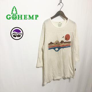 GO HEMP - 【GO HEMP×Nasngwam】オーガニックコットン フットボールTシャツ