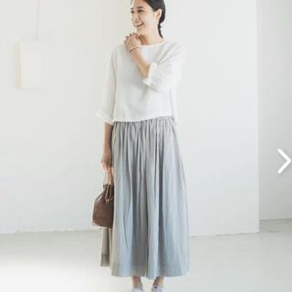 北欧暮らしの道具店 パンツ派さんにもおすすめのギャザースカート