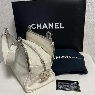 CHANEL - 正規品 シャネル  ハンドバッグ ショルダー 付属品あり
