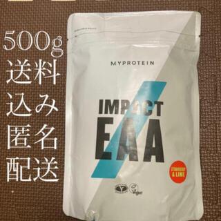 マイプロテイン(MYPROTEIN)の(640) マイプロテイン Impact EAA 500g ストロベリー&ライム(ダイエット食品)
