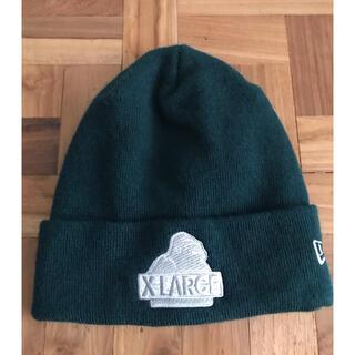 XLARGE - 【未使用】ニューエラ×エックスラージのコラボニット帽