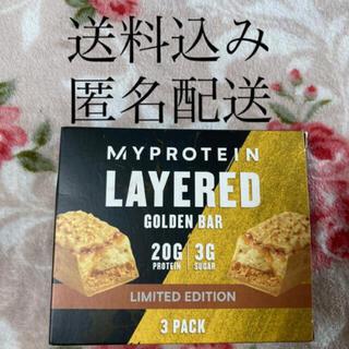 マイプロテイン(MYPROTEIN)の(673) 〜2022.2  ゴールデン レイヤード プロテイン バー 3本(ダイエット食品)