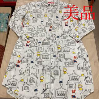 Design Tshirts Store graniph - graniph ミッフィー シャツワンピース お家 美品