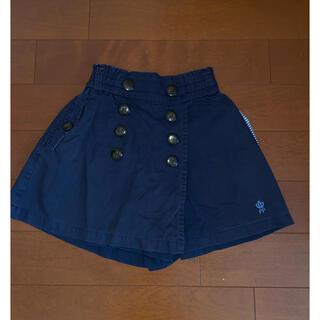 pom ponette - pom ponette 紺色キュロットスカートパンツ 140㎝