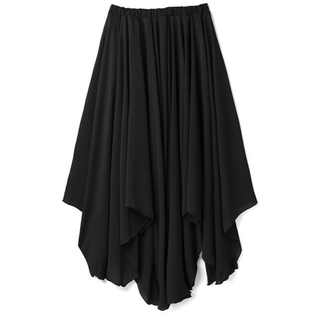 GRL(グレイル)の新品 ロングスカート 黒 レディースのスカート(ロングスカート)の商品写真