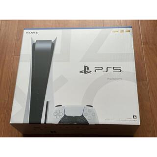 プレイステーション(PlayStation)のPlayStation5 PS5 新品未開封(家庭用ゲーム機本体)
