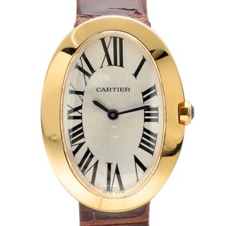 Cartier - カルティエ ベニュワールSM W8000007 クオーツ レディース 【中古】