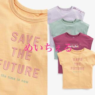 ネクスト(NEXT)の【新品】next マルチ Muted Tone Tシャツ4枚組(オールド)(Tシャツ/カットソー)