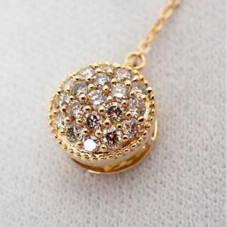 K18 ダイヤモンド ラリエット Y字 ペンダント/ネックレス[g480-7]