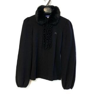 バーバリーブルーレーベル(BURBERRY BLUE LABEL)のバーバリーブルーレーベル 長袖セーター 38(ニット/セーター)