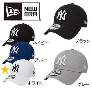 NEW ERA - NEW ERA 940 ニューヨークヤンキース キャップ 9FORTY ホワイト