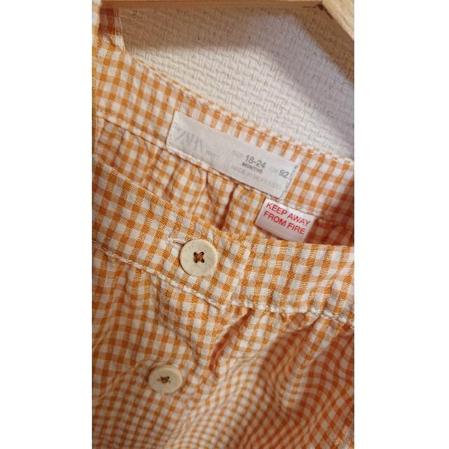 ZARA KIDS(ザラキッズ)のZARAキッズ トップス キッズ/ベビー/マタニティのキッズ服女の子用(90cm~)(Tシャツ/カットソー)の商品写真