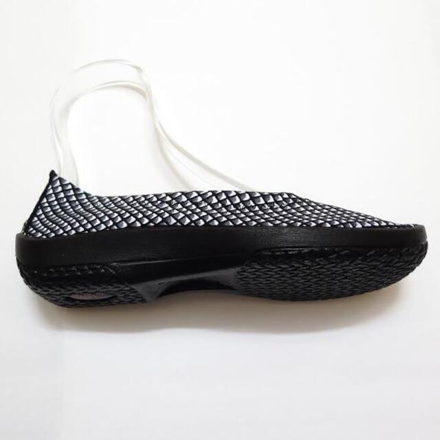 ARCOPEDICO(アルコペディコ)の【新品】 アルコペディコ バレリーナジオ1 35(23cm) B×W レディースの靴/シューズ(バレエシューズ)の商品写真