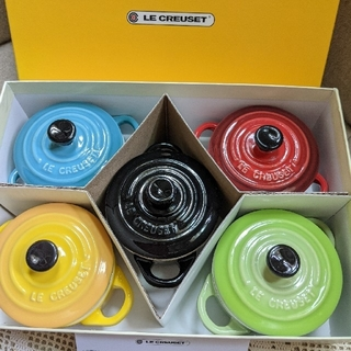 LE CREUSET - ル・クルーゼ LE CREUSET プチココット ココット オリンピック 限定