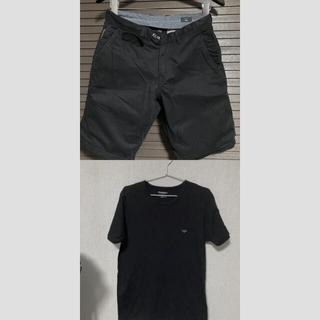 アルマーニ(Armani)のアルマーニ Tシャツ ハーフパンツ セット(Tシャツ/カットソー(半袖/袖なし))