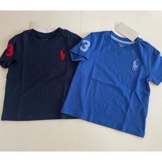 Ralph Lauren - 新品未使用 ラルフローレン  Tシャツ 2枚セット 85cm