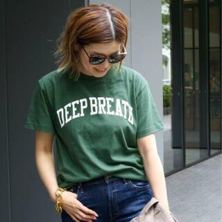 DEUXIEME CLASSE - 新品【SKIN/スキン】DEEP BREATH Tシャツ グリーン