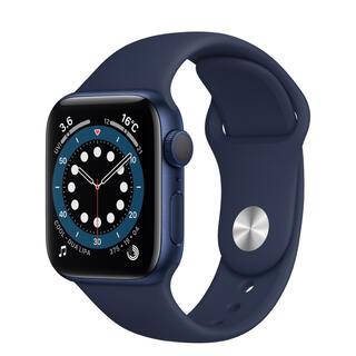 Apple Watch - Apple Watch Series 6(GPSモデル)40mm 新品ネイビー