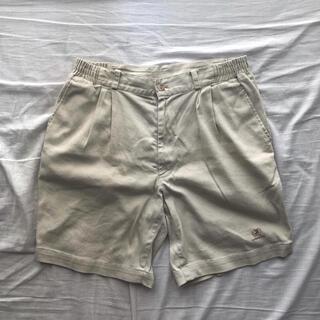 コモリ(COMOLI)のlinen shorts natural(ショートパンツ)