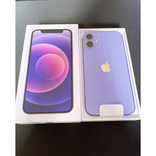 Apple - 【新品未使用】SIMフリー iPhone12 mini 64GB パープル
