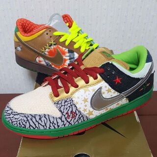 NIKE SB WHAT THE DUNK 318403-141レア物!プレゼ